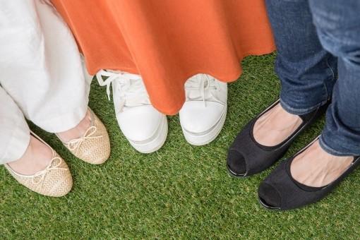 体 歪み 改善:いろいろな靴