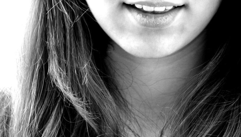 顎周りのアップ